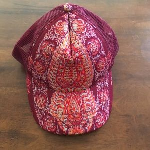 Billabong boho trucker hat